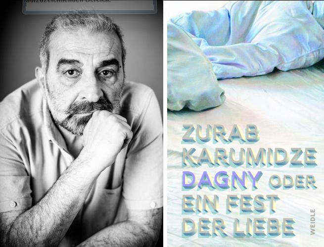 Zurab Karumidze, Lesung, 15.10.2018, 20.00 Uhr