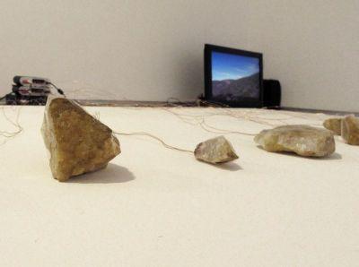 """von den Driesch & Dyffort – """"Punktierte Fragmente"""", Klanginstallation, Galerie, 10.11. – 31.12.2018"""