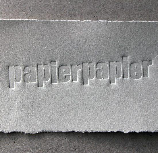 """Saarländisches Künstlerhaus Saarbrücken e.V., Studio, Saarländischer Künstlerbund, """"papierpapier"""""""