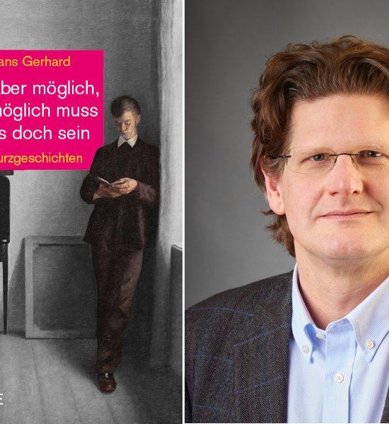 """Saarländisches Künstlerhaus Saarbrücken e.V., Lesung, Hans Gerhard – """"Aber möglich, möglich muss es doch sein"""" Buchvorstellung"""